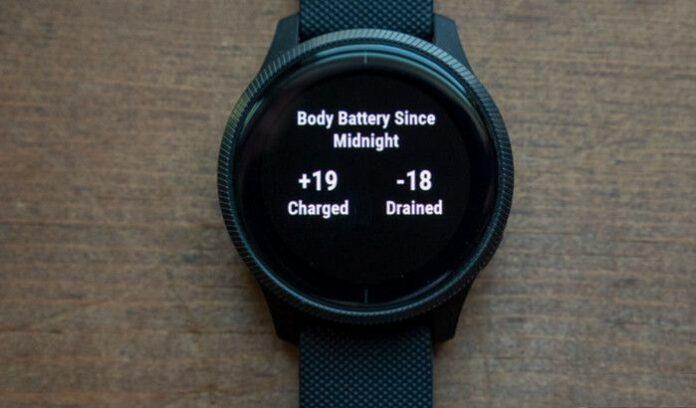 Body Battery Smartwatch Garmin
