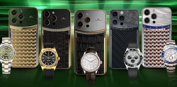 Caviar Jual iPhone 13 Pro Premium, Terinspirasi Jam Mewah Rolex