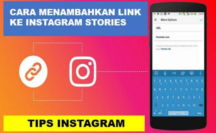 Menambahkan Link ke Instagram Stories