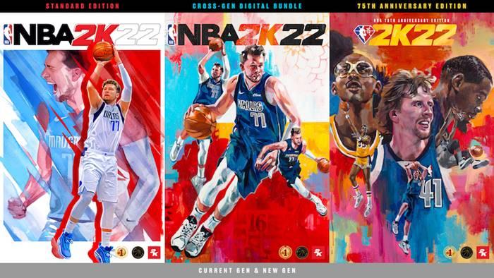Harga Game NBA 2K22 di Indonesia, Ada Edisi NBA 75th Anniversary