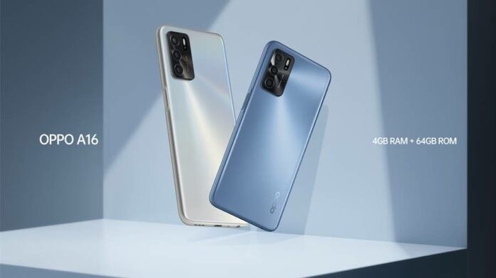 Oppo A16 4/64GB Indonesia
