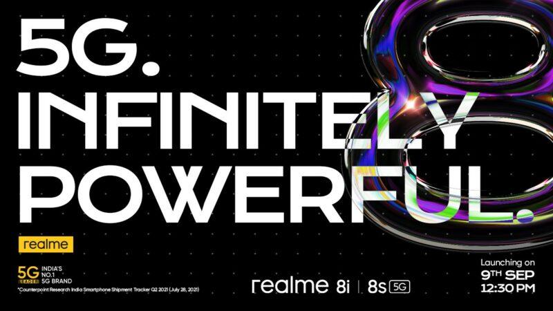 Realme 8s 5G 8i