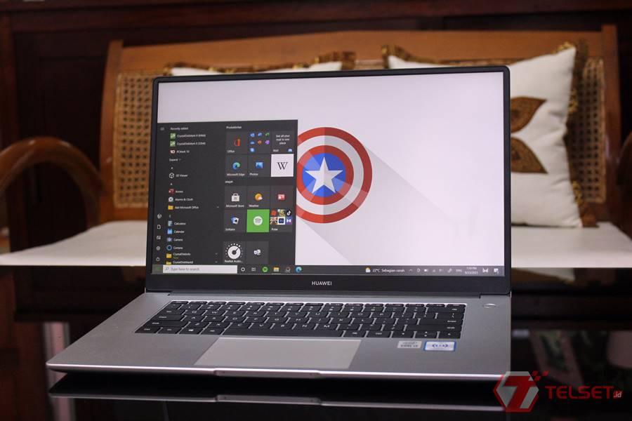 Review Huawei MateBook D15