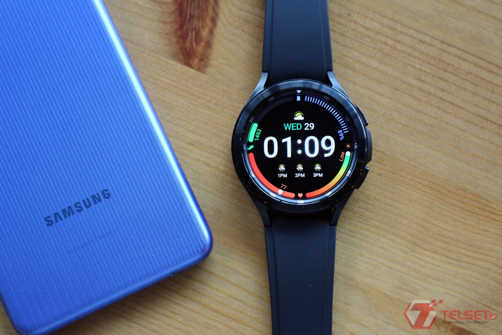 Review Samsung galaxy Watch4 Classic