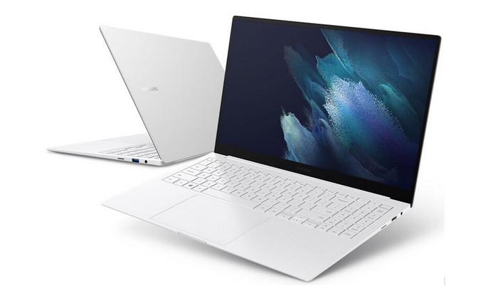 Laptop Samsung Galaxy Book Business Edition dengan Windows 10 Pro