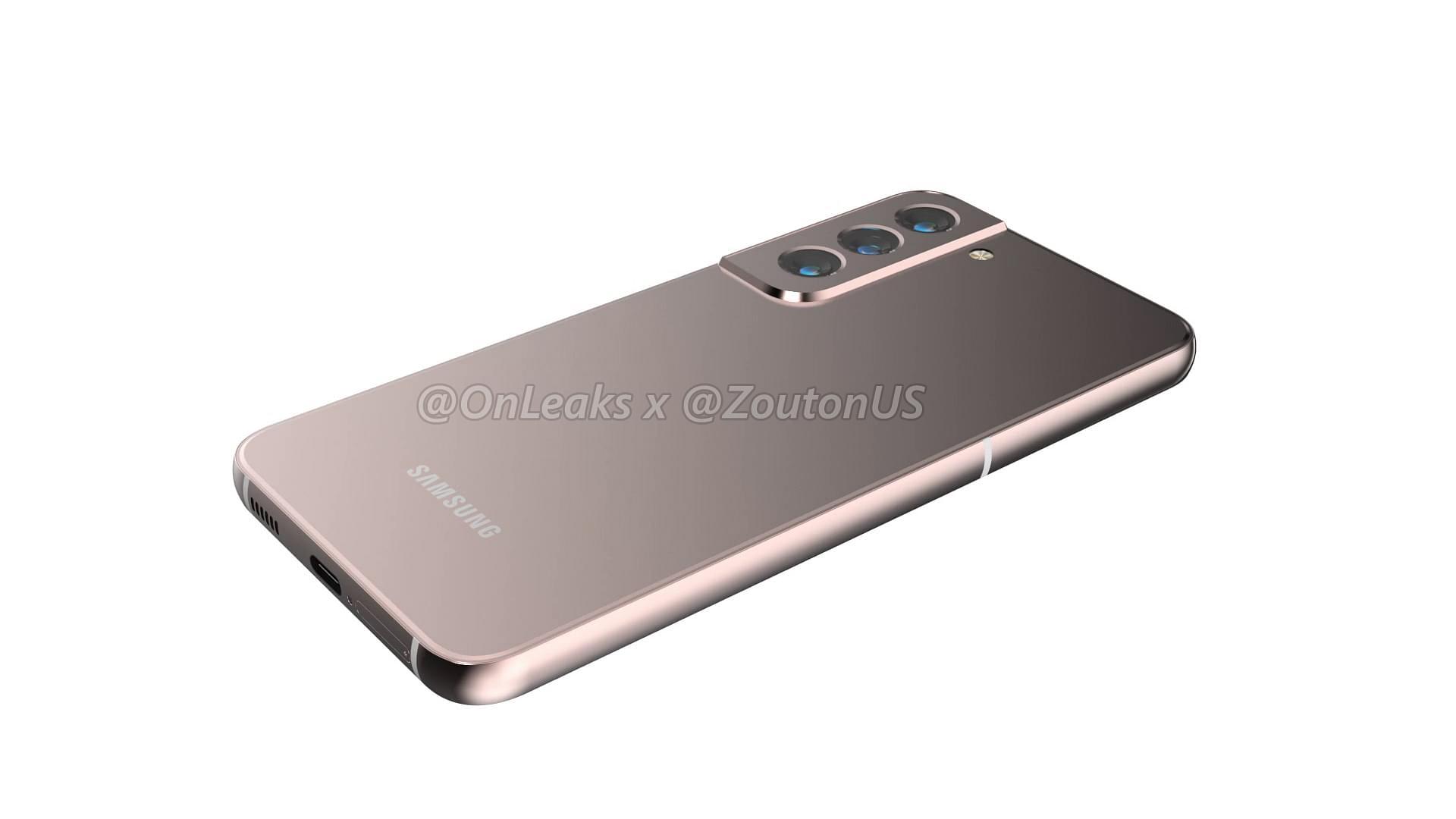 Samsung Galaxy S22 Desain