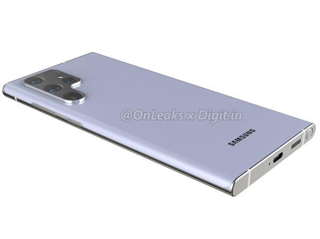 Samsung Galaxy S22 Ultra Desain