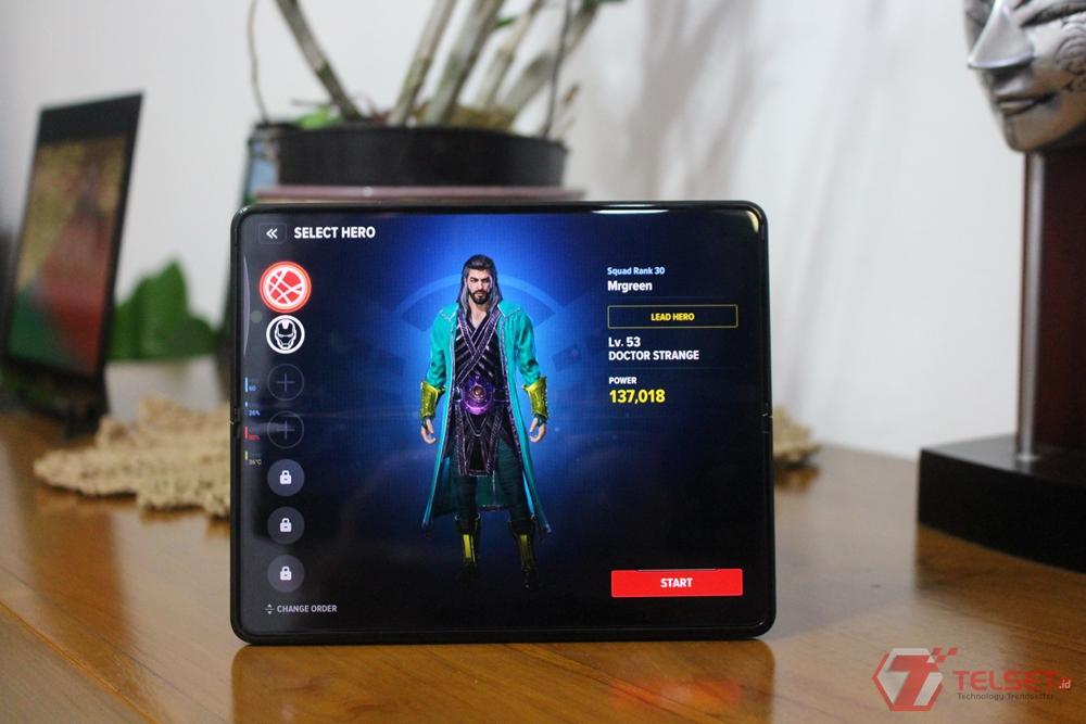 Samsung Galaxy Z Fold 3 Gaming