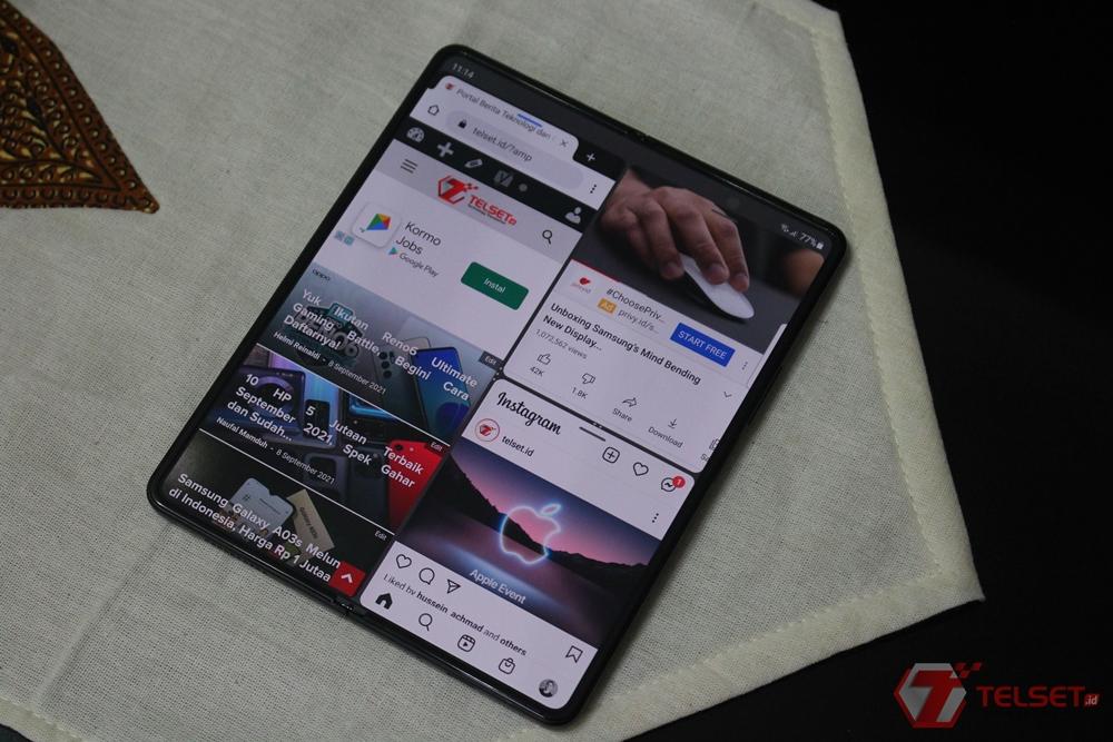 Fitur Produktivitas Samsung Galaxy Z Fold3