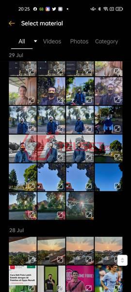 Soloop Templates Kamera Oppo Reno6