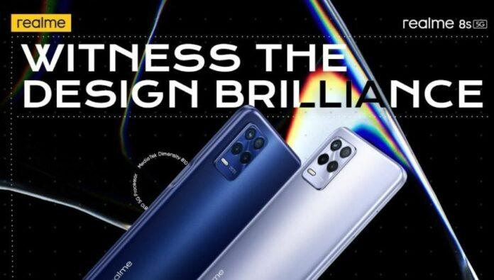 Spesifikasi Harga Realme 8s 5G 8i
