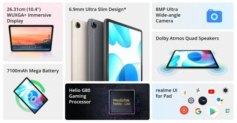 Spesifikasi Harga Realme pad Indonesia