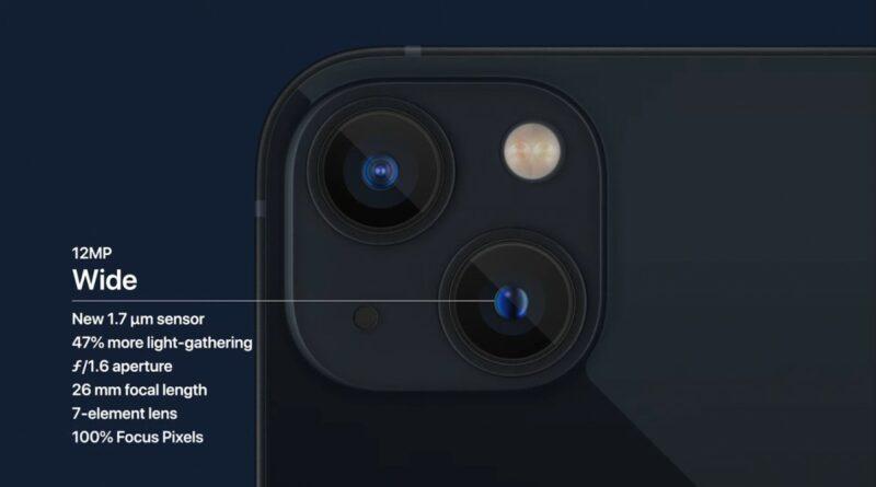 Spesifikasi Kamera iPhone 13 Mini
