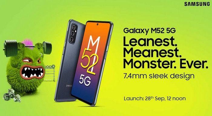 Debut 28 September, Ini Bocoran Spesifikasi Samsung Galaxy M52 5G