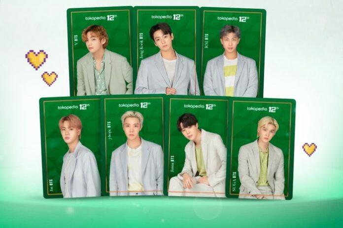 Tokopedia BTS Photocard