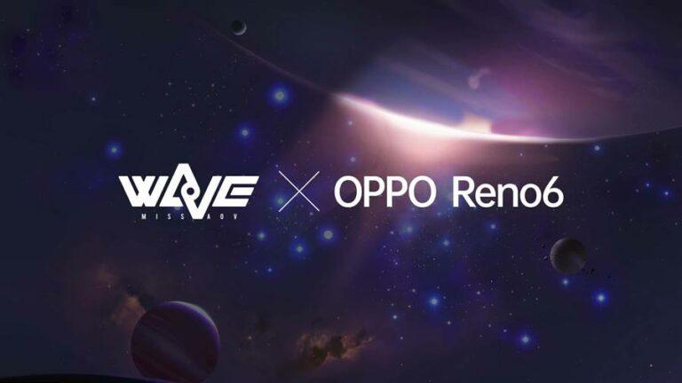 Oppo Reno6 Kolaborasi dengan Idol Grup AOV Bernama WaVe