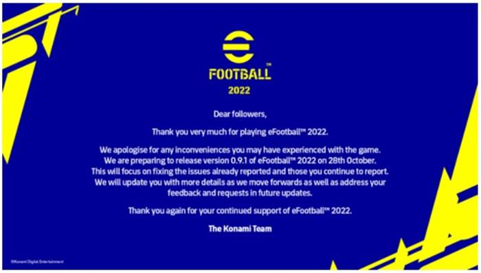 update grafis eFootball 2022