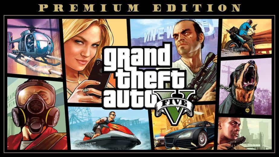 GTA V PS5 Xbox Series X/S