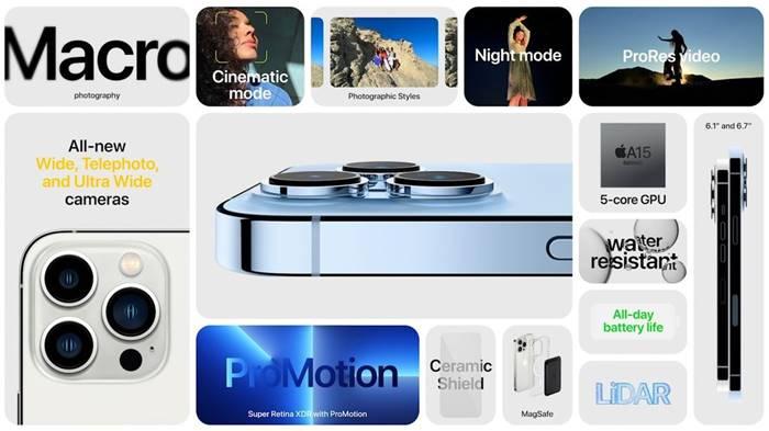 spesifikasi iphone 13 pro