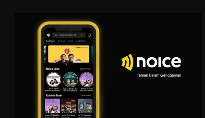 Aplikasi Podcast Noice Live