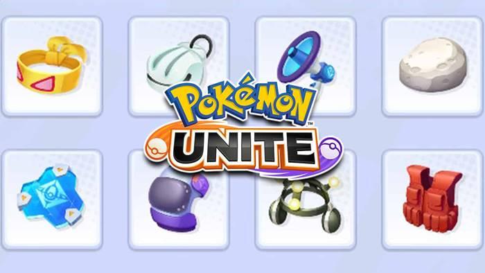 item pokemon unite