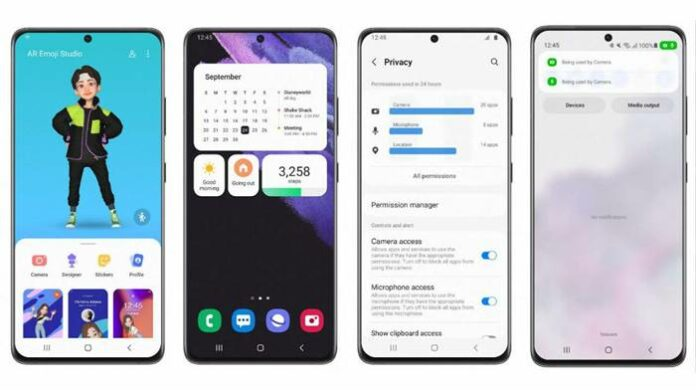 android 12 HP Samsung