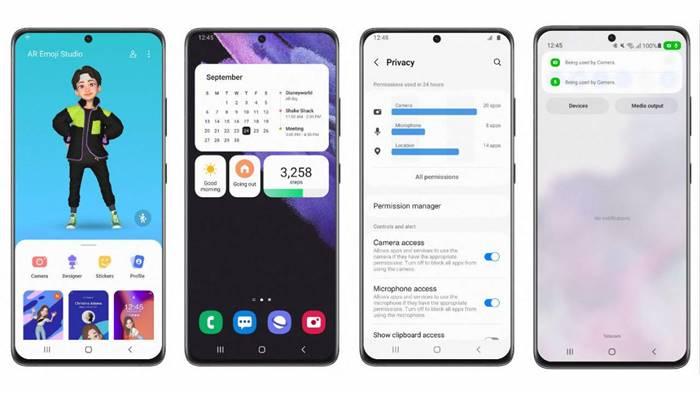 Daftar Lengkap HP Samsung yang Terima Update Android 12 Beta