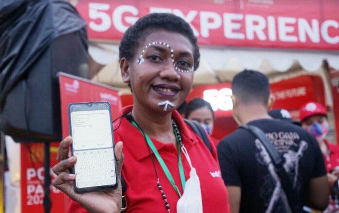 5G Telkomsel Papua