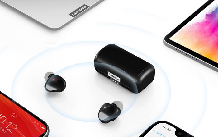 Lenovo Droplet, Earphone TWS Sejutaan dengan Fitur Anti Air