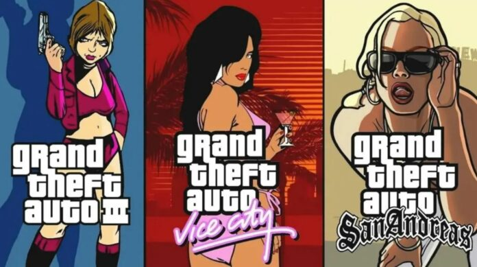 GTA The Trilogy - The Definitive Edition