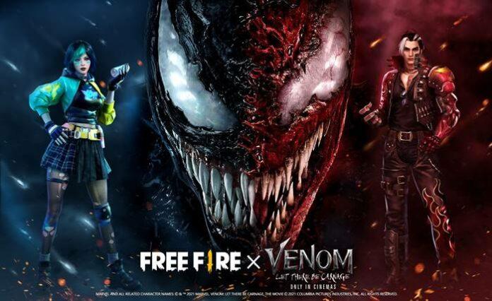 Item eksklusif Venom Free Fire