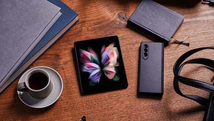 Kamera Samsung Galaxy Z Fold3