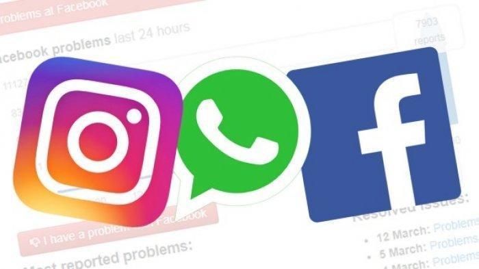 Penyebab gangguan Facebook Instagram WhatsApp Down