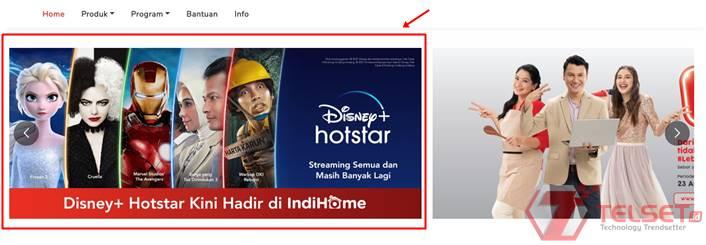 Paket Disney+ Hotstar IndiHome