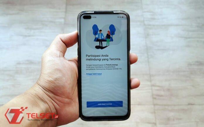 Aplikasi Check in PeduliLindungi