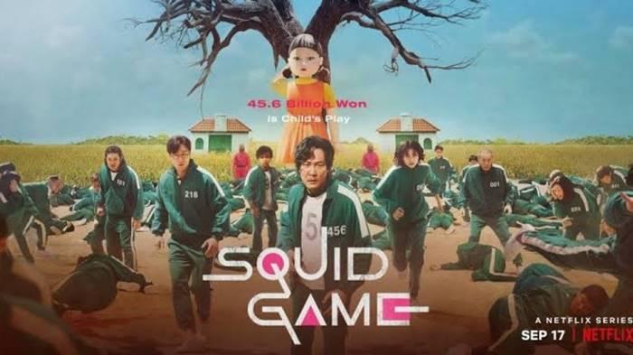 Film Squid Game Pecahkan Rekor Penayangan di Netflix