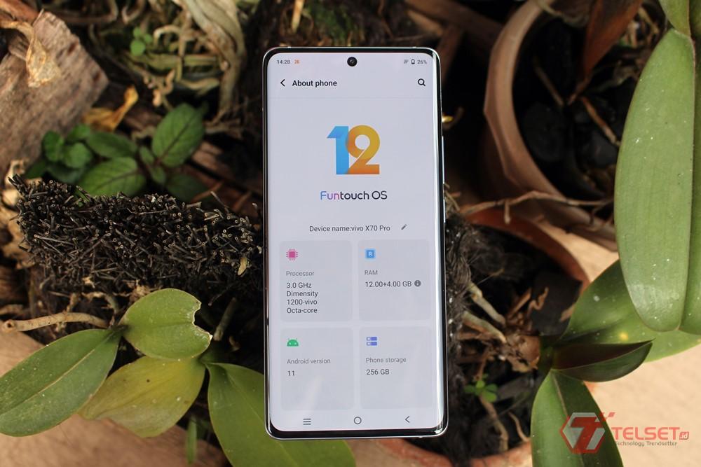Review baterai Vivo X70 Pro
