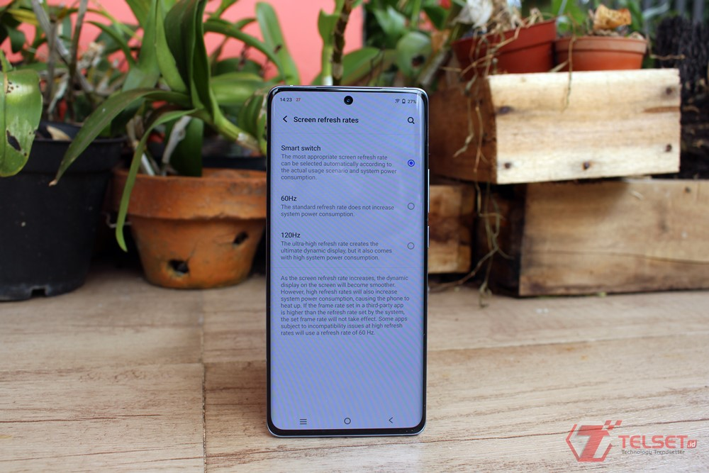 Review layar Vivo X70 Pro