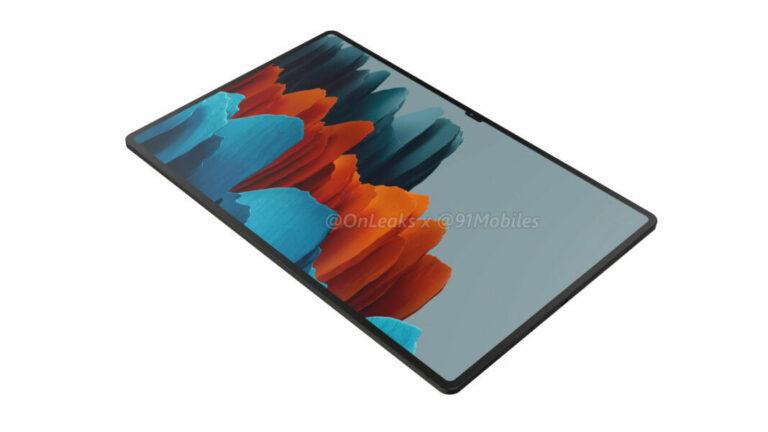 Samsung Galaxy Tab S8 Ultra Bakal Tampil Beda, Layarnya Berponi