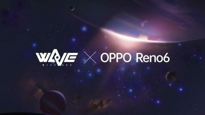 Oppo Reno6 WaVe Special Limited Edition