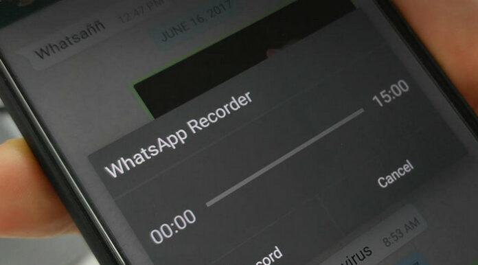 Pesan Suara WhatsApp