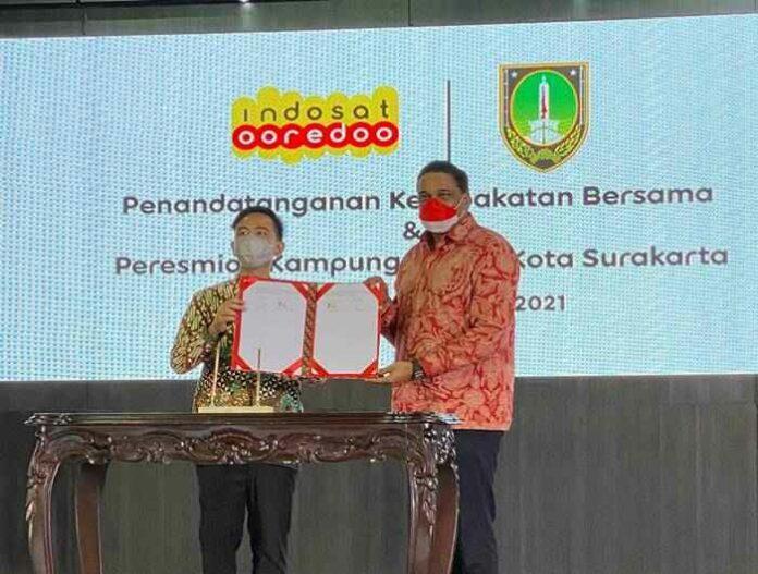 layanan 5G Indosat Kampung Digital