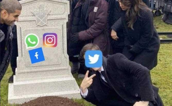 Server Facebook Instagram WhatsApp Down Penyebab Tidak Bisa Diakses Hack DNS Jaringan Gangguan