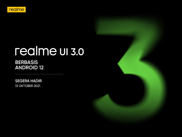 Update realme UI 3.0 Android 12