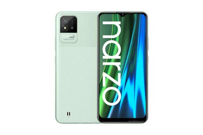 HP Realme Narzo 50i Harga Spesifikasi RAM Prosesor KAmera Baterai Sistem Operasi Indonesia